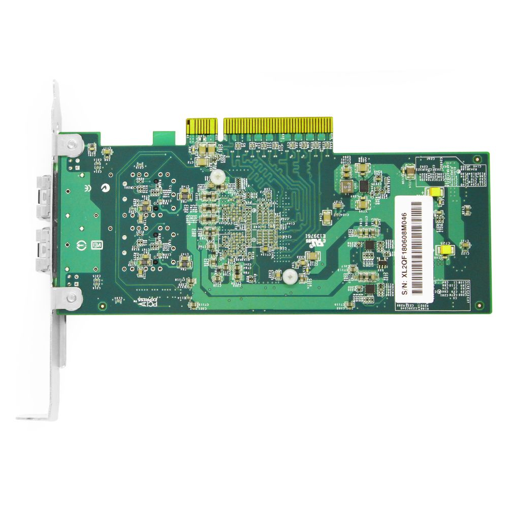 The Reserve Side of Fiber Mall FMXXV710-25G-S2 Ethernet adapter