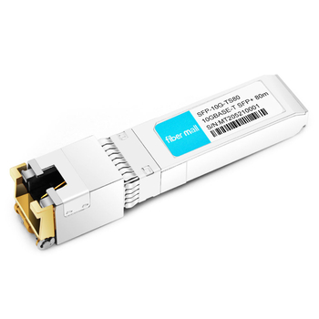 Arista Networks SFP-10G-T-80 Compatible 10GBase-T Copper SFP+ to RJ45 80m Transceiver Module