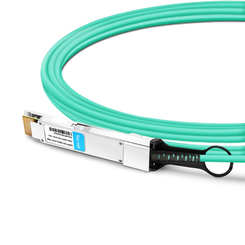 QSFP-DD-200G-AOC-15M 15m (49ft) 200G QSFP-DD to QSFP-DD Active Optical Cable
