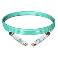 QSFP-DD-400G-AOC-5M 5m (16ft) 400G QSFP-DD to QSFP-DD Active Optical Cable