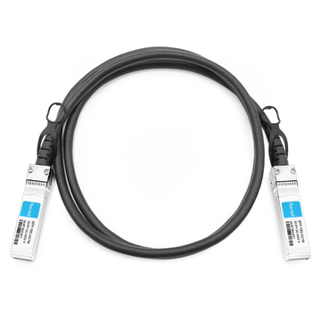 Dell/Force10 CBL-10GSFP-DAC-1MA Compatible 1m (3ft) 10G SFP+ to SFP+ Active Direct Attach Copper Cable