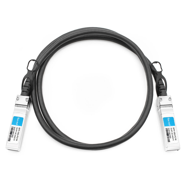 HPE Aruba J9281D Compatible 1m (3ft) 10G SFP+ to SFP+ Passive Direct Attach Copper Cable