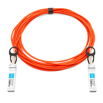 DELL/Force10 CBL-10GSFP-AOC-5M Compatible 5m (16ft) 10G SFP+ to SFP+ Active Optical Cable