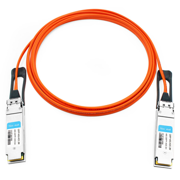 Avago AFBR-7QER02Z Compatible 2m (7ft) 40G QSFP+ to QSFP+ Active Optical Cable