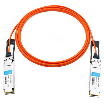 Dell/Force10 CBL-QSFP-40GE-3M Compatible 3m (10ft) 40G QSFP+ to QSFP+ Active Optical Cable