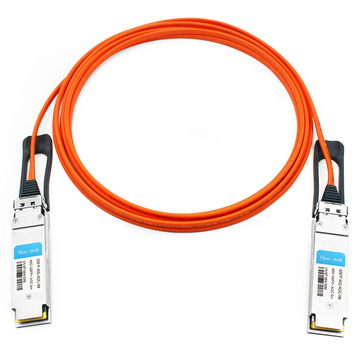 Dell/Force10 CBL-QSFP-40GE-5M Compatible 5m (16ft) 40G QSFP+ to QSFP+ Active Optical Cable