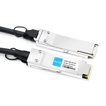HPE BladeSystem 720196-B21 Compatible 1m (3ft) 40G QSFP+ to QSFP+ Passive Copper Direct Attach Cable