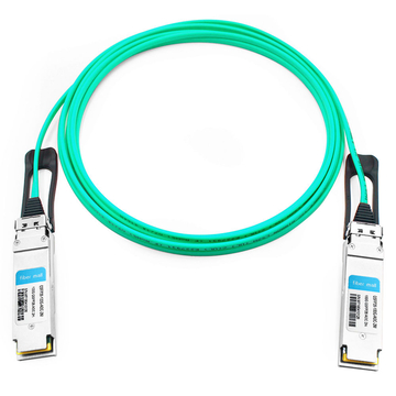 Brocade QSFP28-100G-AOC2M Compatible 2m (7ft) 100G QSFP28 to QSFP28 Active Optical Cable