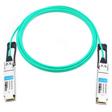 Brocade QSFP28-100G-AOC3M Compatible 3m (10ft) 100G QSFP28 to QSFP28 Active Optical Cable
