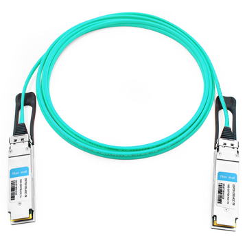 HPE BladeSystem 845410-B21 Compatible 7m (23ft) 100G QSFP28 to QSFP28 Active Optical Cable