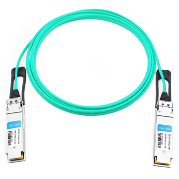 HPE X2A0 JL278A Compatible 20m (66ft) 100G QSFP28 to QSFP28 Active Optical Cable