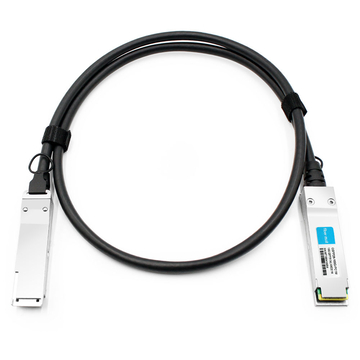 Dell DAC-Q28-100G-1M Compatible 1m (3ft) 100G QSFP28 to QSFP28 Copper Direct Attach Cable