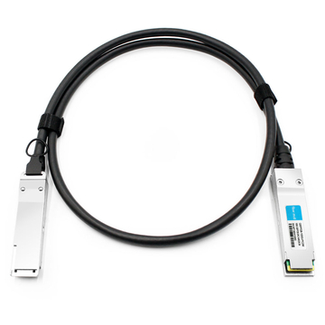 Dell DAC-Q28-100G-2M Compatible 2m (7ft) 100G QSFP28 to QSFP28 Copper Direct Attach Cable
