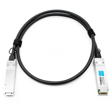 Dell DAC-Q28-100G-3M Compatible 3m (10ft) 100G QSFP28 to QSFP28 Copper Direct Attach Cable