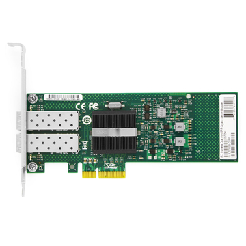 Intel® 82576 F2 Dual Port Gigabit SFP  PCI Express x4 Ethernet Network Interface Card PCIe v2.0