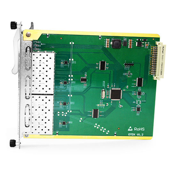 10G OTU(OEO) Card; Transponder, 3R Transparently Transmit 4 Channels' Service at Any Rate in 1G~11.3Gbps