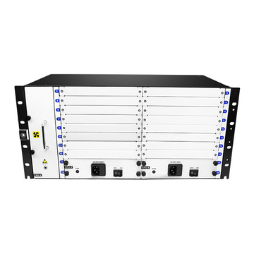 5U Frame Supports 18 Service Slots OEO/EDFA/OLP/DCM/CWDM/DWDM, with A Super High Level of Integration
