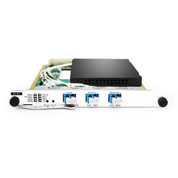 Optical Line Protection (OLP) Unit 1+1 Line Protection, Double Ends Transmission  Selected Reception Single End Switching Time Delay is Less Than 20mms