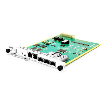 Systematic Communication and Control Unit It Supports 2 RJ45 and 3 SFP Ports and Web or SNMP Network Control