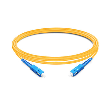 1m (3ft) Simplex OS2 Single Mode SC UPC to SC UPC LSZH Fiber Optic Cable