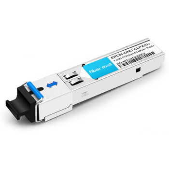 EPON-ONU-CLPX20+ EPON ONU SFP TX-1.25G/RX-1.25G TX-1310nm/RX-1490nm PX20+ 20km SC\UPC SMF DDM Transceiver Modules (Not EPON ONU STICK,NO MAC function)
